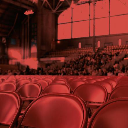 Photo of empty theatre seats