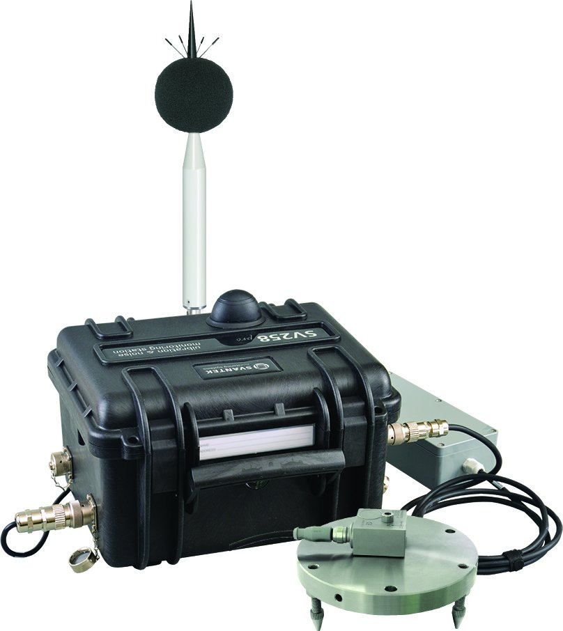SV258 PRO Vibration & Noise Monitoring Station